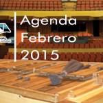 Agenda Cultural de Actividades mes de Febrero, Teatro Nacional