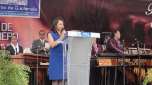 festival de la Marimba, Viceministra Castellanos