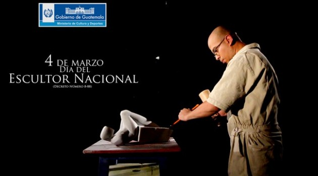 Banner escultor nacional