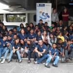 Jóvenes de Centro Pirámide recorren Centro Cultural