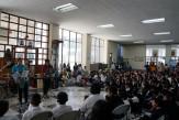 """Celebración día del Libro en la Biblioteca Nacional """"Luis Cardoza y Aragón"""" en el año 2014. Fotografía de archivo."""
