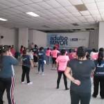SUPER CLASE DEL PROGRAMA ADULTO MAYOR EN BOCA DEL MONTE 144
