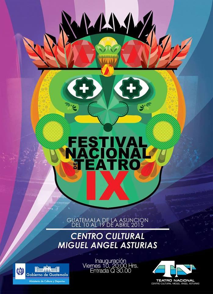 afiche del festival de teatro
