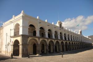 Palacio de los Capitanes Generales, Antigua Guatemala.