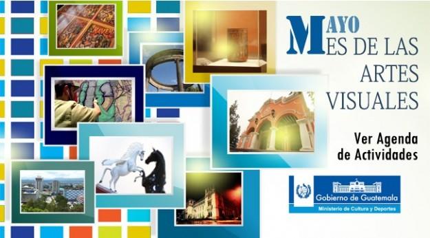 Banner web mes de las artes visuales+logo