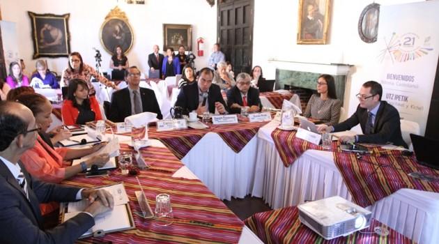Ministros de Cultura de Centroamerica y republica dominicana_1287