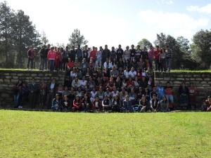 Iximché es visitado por estudiantes y liderezas 194