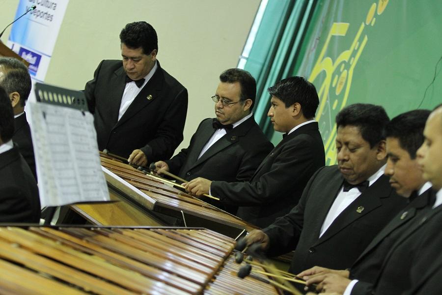 Marimba de Concierto del Palacio Nacional6