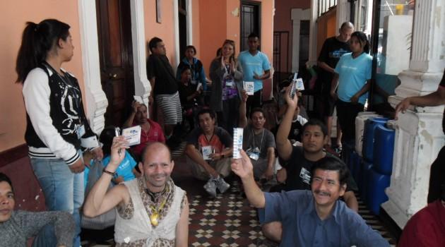 Promotores imparten charlas motivacionales en pro de la reinserción social