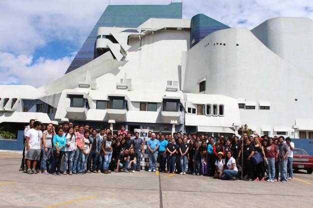 Remozamiento en el Centro Cultural Miguel Ángel Asturias