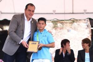 Jorge Vega reconocimiento