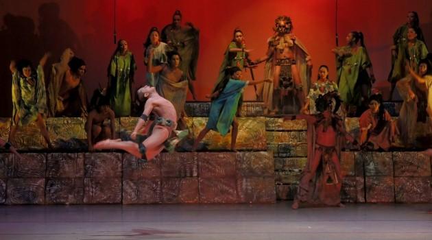 Juicio de los Dioses Ballet Moderno