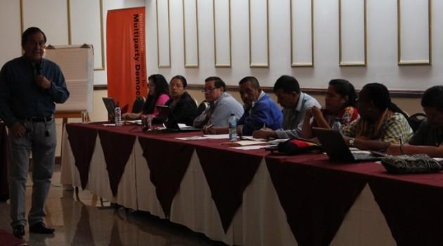 MCD fortalece a  Representantes de Pueblos Indígenas