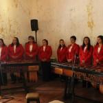 Marimba Femenina realizó Temporada de Conciertos en La Antigua Guatemala