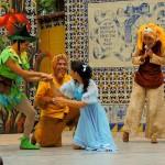 El Ballet Moderno y Folklórico presentó en el Cerrito del Carmen La obra Peter Pan