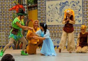 Peter Pan en el Cerrito del Carmen 1
