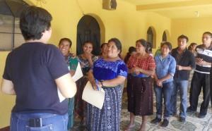 autoridades indigenas reciben taller sonbre saberes ancestrales
