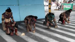 Juego de Pelota Maya en Centro Comercial Atanasio Tzul