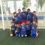 Cuadrangular de futbol infantil en Polideportivo Gerona