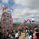Sumpango y Santiago Sacatepéquez se preparan para el festival anual de Barriletes Gigantes