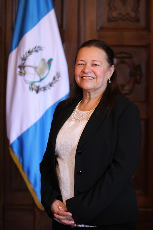 Viceministra del Deporte y la Recreación Gladys Palala