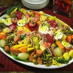 El fiambre un plato tradicional del Día de Todos los Santos