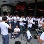 Festival del Clarinete celebrado en la sexta avenida de la zona 1