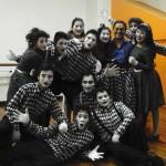 Estudiantes de la Escuela Nacional de Arte Dramático (ENAD)