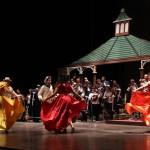 Festival de Danza celebrado en el Teatro Nacional con motivo a la XI edición del Festival de Junio