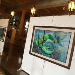 Adelsore, el pintor de los presidentes realizará exposición en el Palacio Nacional de la Cultura