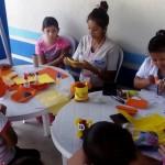 Academia de Manualidades en el Parque Erick Bernabé Barrondo García