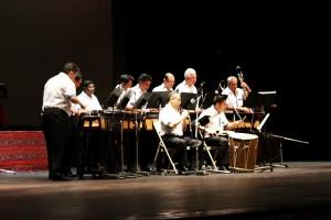 Marimba de concierto de bellas artes
