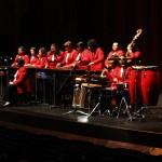Marimba femenina de concierto