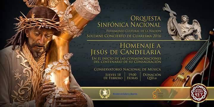OSN Homenaje Jesus de Candelaria
