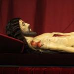 Cristo Yacente restaurado por IDAEH