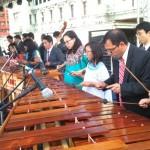 Se celebró el Día de la Marimba con Festival en Plaza de la Constitución