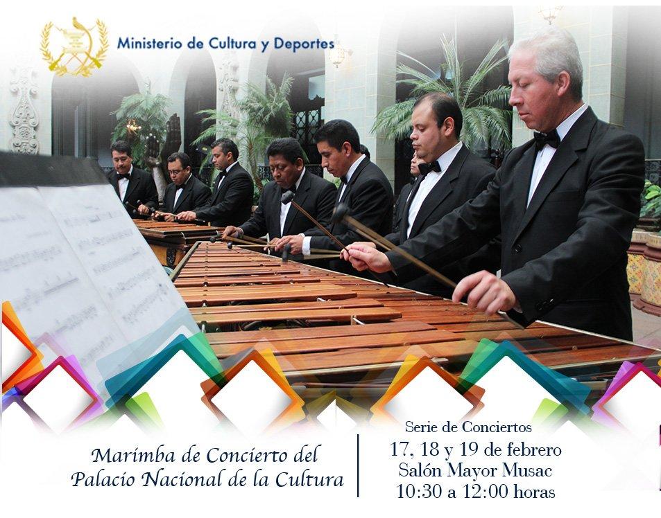 marimaba de concierto del palacio nacional