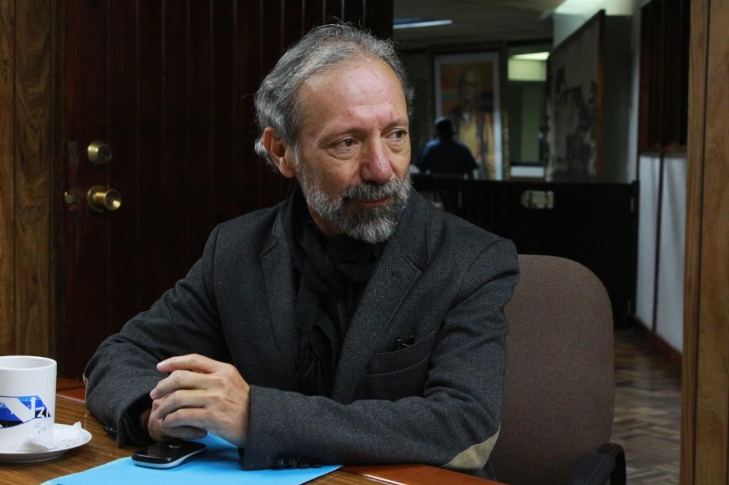 Alvaro Veliz Rosales Director Teatro Nacional