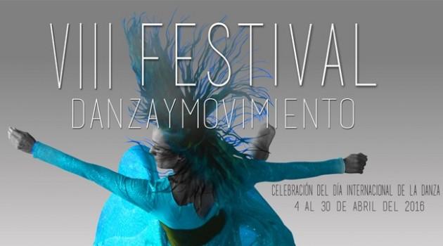 Banner festival de danza y movimiento