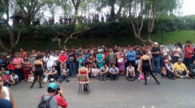 Danza y movimiento en las calles