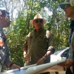 Ministro José Luis Chea Urruela visita sitio arqueológico El Pilar