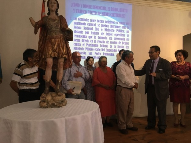 Entrega de la Imagen de San Miguel