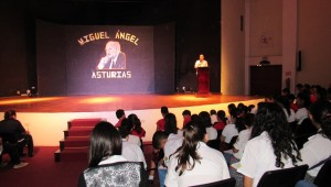 Homenaje Miguel Angel asturias