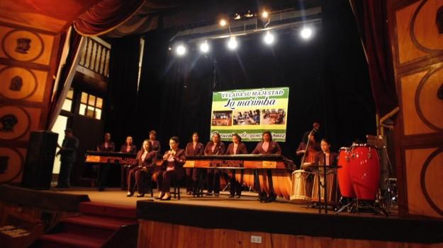 La Marimba Femenina de Concierto lleva su canto a Huehuetenang