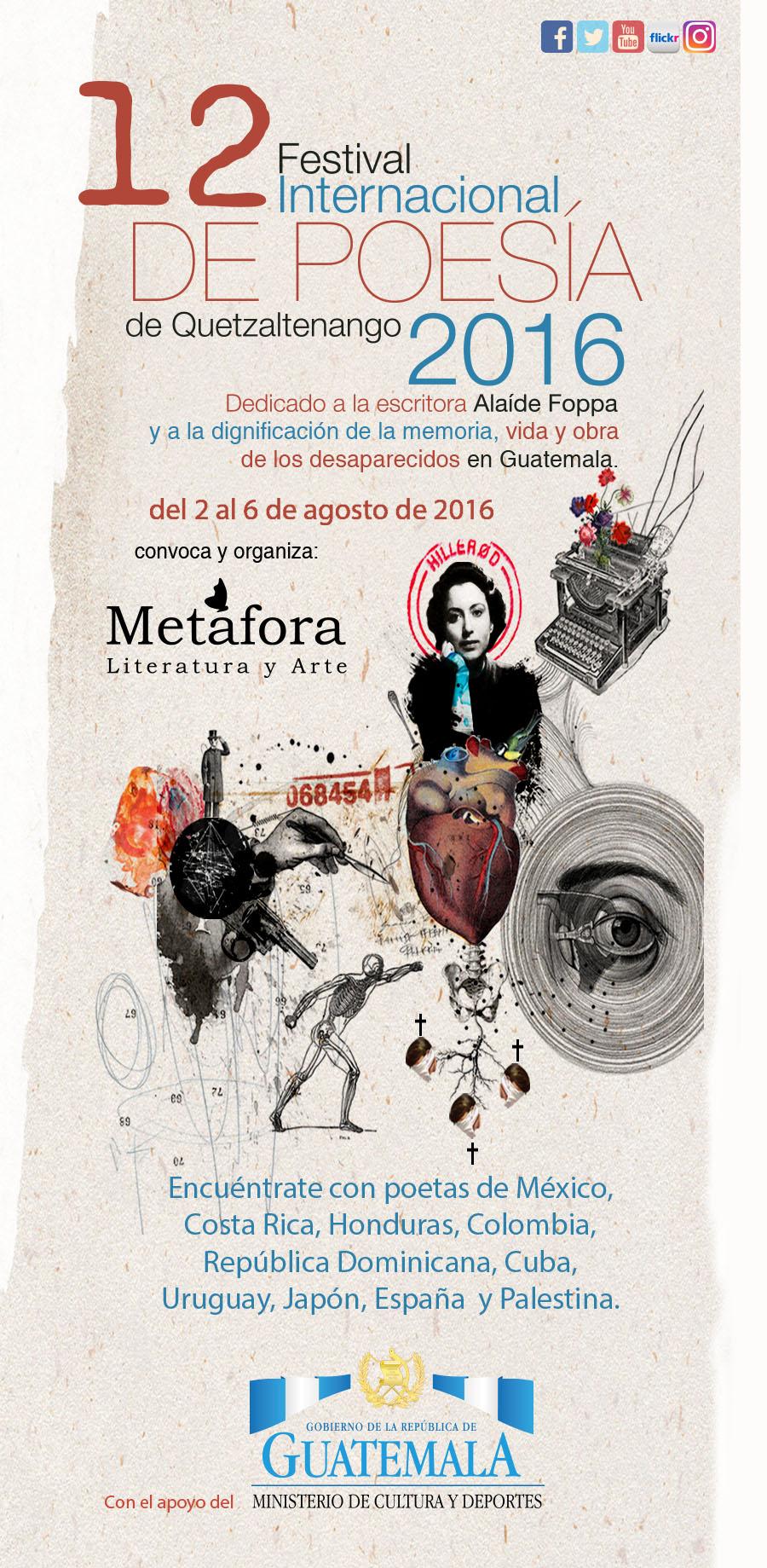 12 Festival Internacional de Poesía