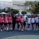 Academia de fútbol femenino en Parque Erick Barrondo