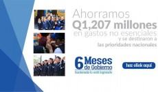 Banner 6 meses de gobierno