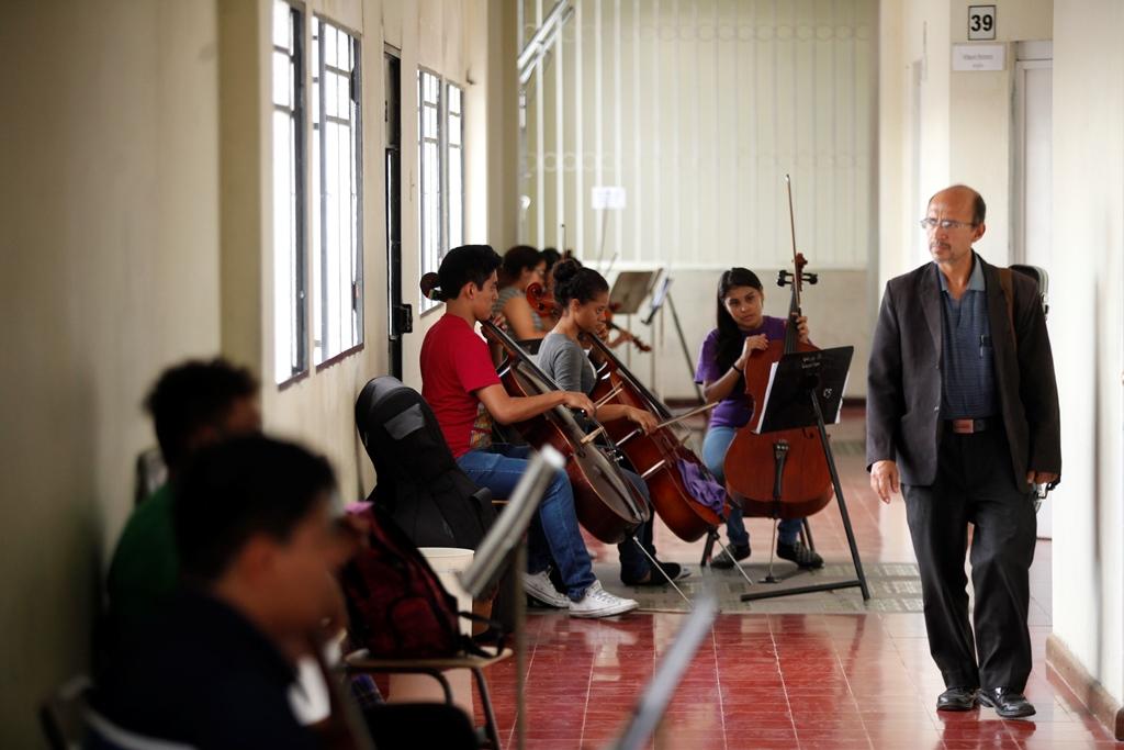 Conservatorio nacional de m sica germ n alc ntara for Conservatorio de musica