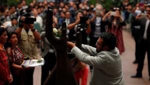 Poeta Marvin García estival Internacional de Poesía de Quetzaltenango