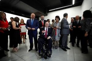 Rodolfo Paiz Andrade fue honrado con el Premio Carlos Mérida1
